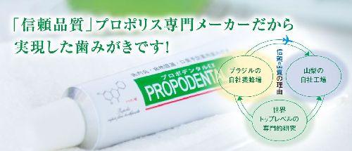 歯周病・口臭予防の専用薬用ハミガキ プロポデンタルEX 口コミ・評判は?